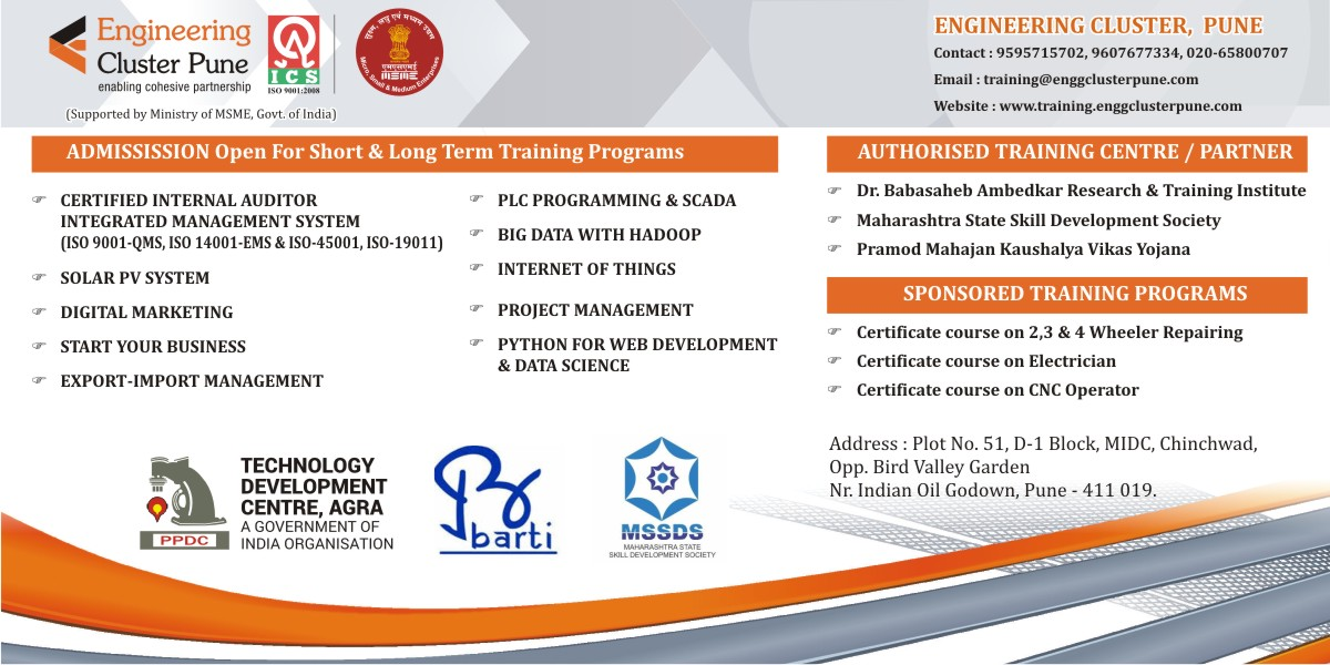 Engineering Cluster Training – A Government Promoted Training Centre